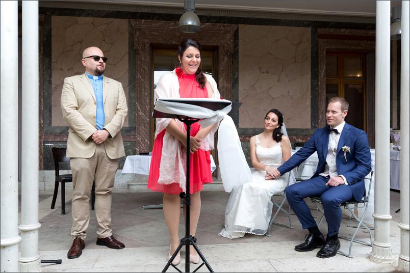 Freie Trauung Basel - Merian Villa - Hochzeitsfotograf
