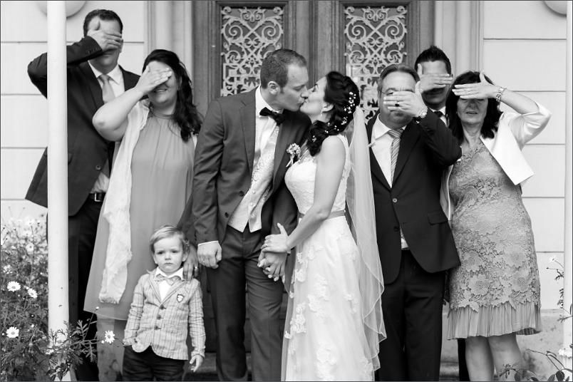 Gruppenbild Hochzeit Basel