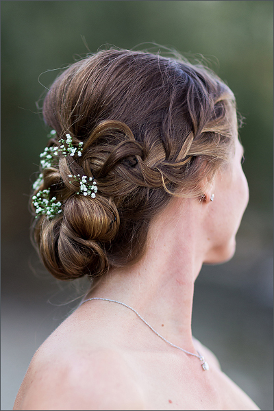 Hochzeit Fotoshooting Brautfrisur