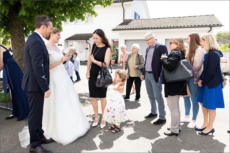 Hochzeit Apéro Leuggern