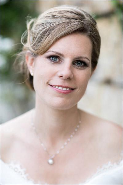 Braut bei Schloss Wildenstein