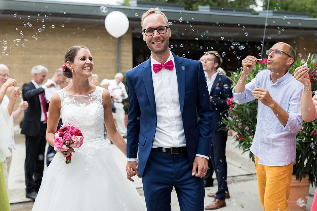 Hochzeitsfotograf Basel - Lehmhaus in den Merian Gärten