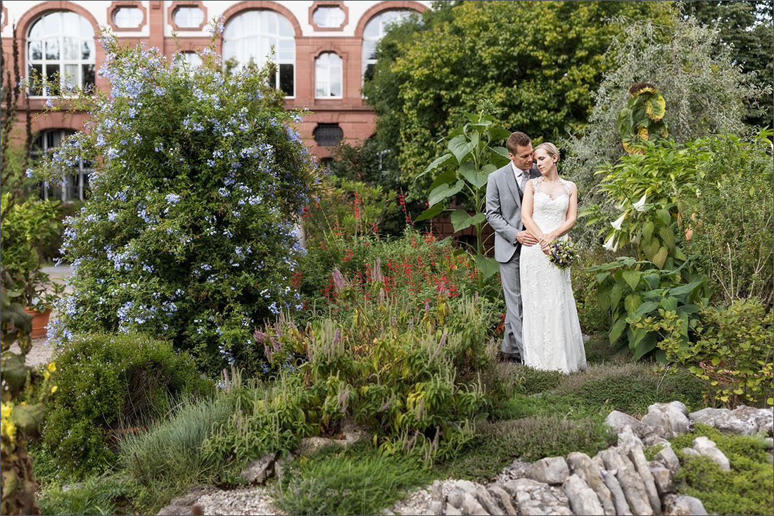 Hochzeitsfotografin Basel - Botanischer Garten