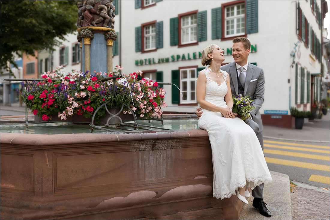 Hochzeitsfotografin Basel - Spalenberg
