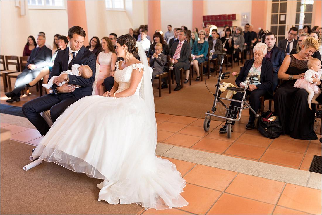 Kirchliche Trauung Binzen - Hochzeitsfotograf Lörrach