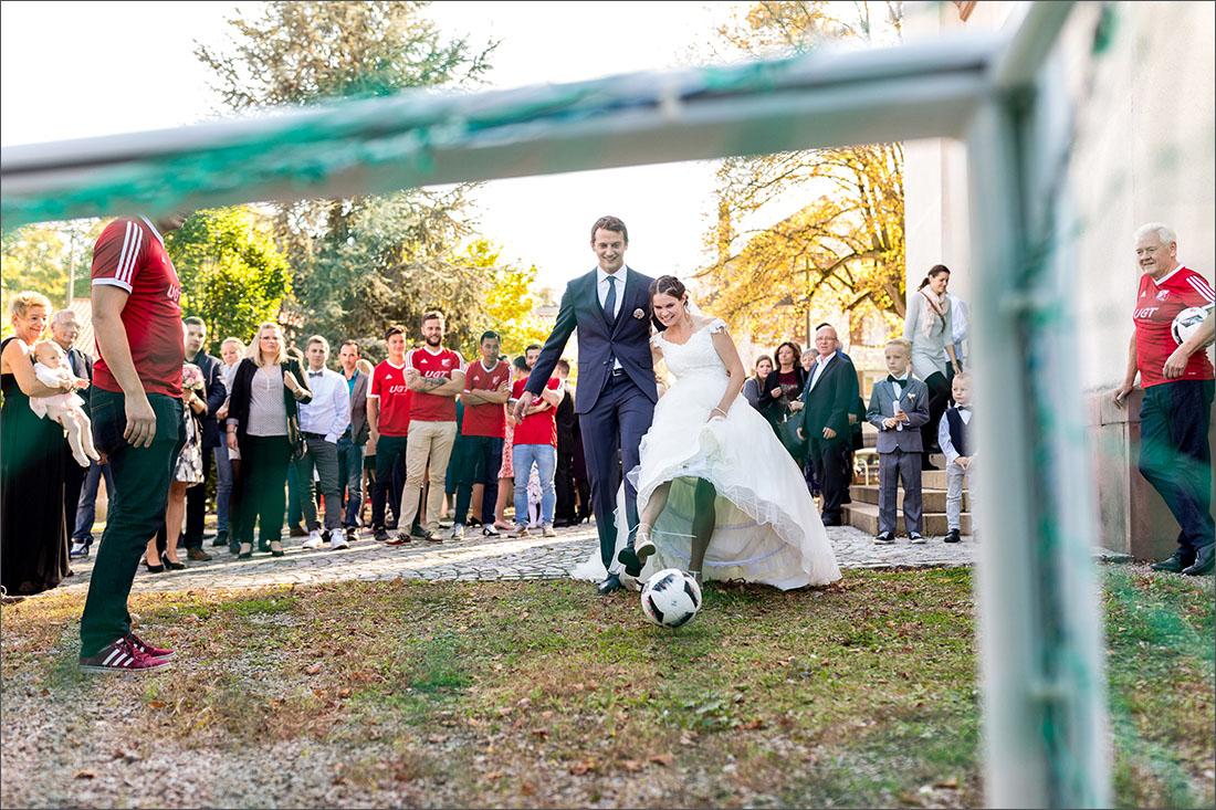 Sektempfang Hochzeit Binzen - Hochzeitsfotograf Lörrach