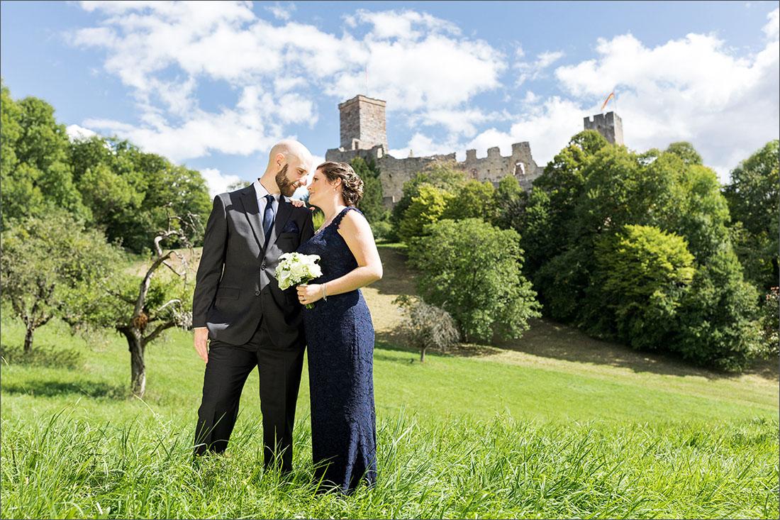 Standesamtliche Hochzeit auf Burg Rötteln