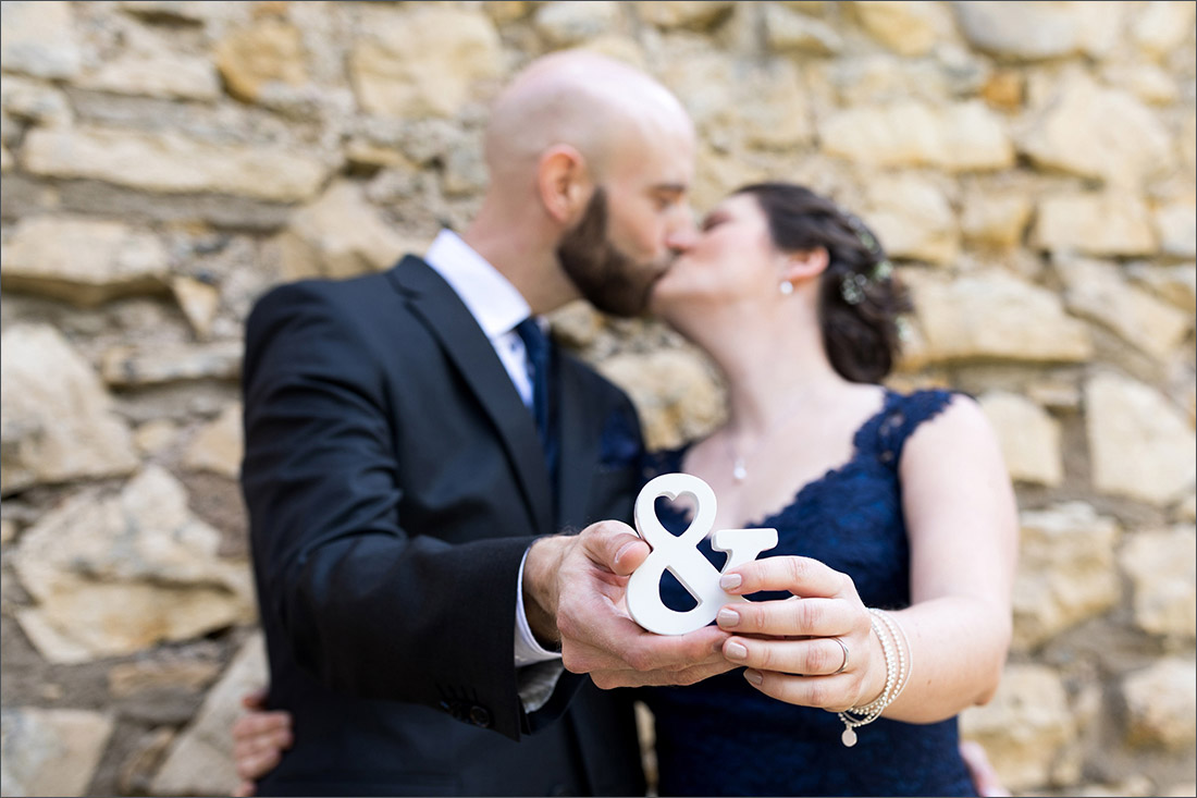 Standesamtliche Hochzeit auf Burg Rötteln in Lörrach