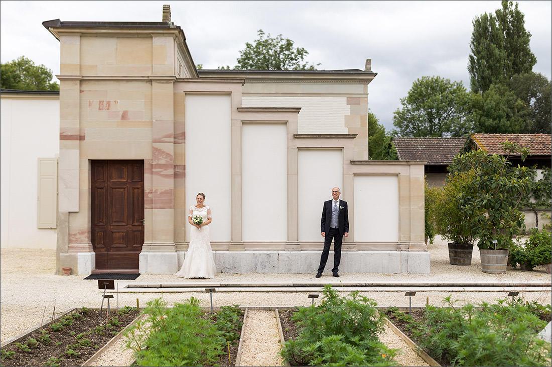 Brautpaar Fotoshooting Merian Gärten Basel