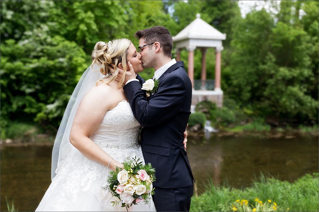 romantisches Brautpaar Fotoshooting