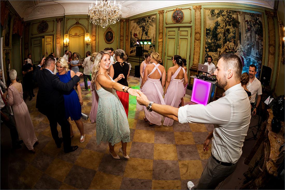 Party Villa Wenkenhof mit DJ Toni Pec