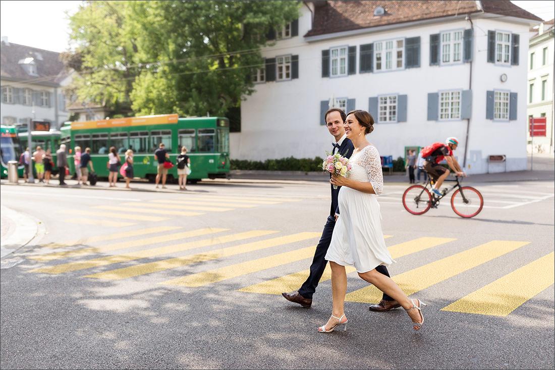 Brautpaar Basel Stadt